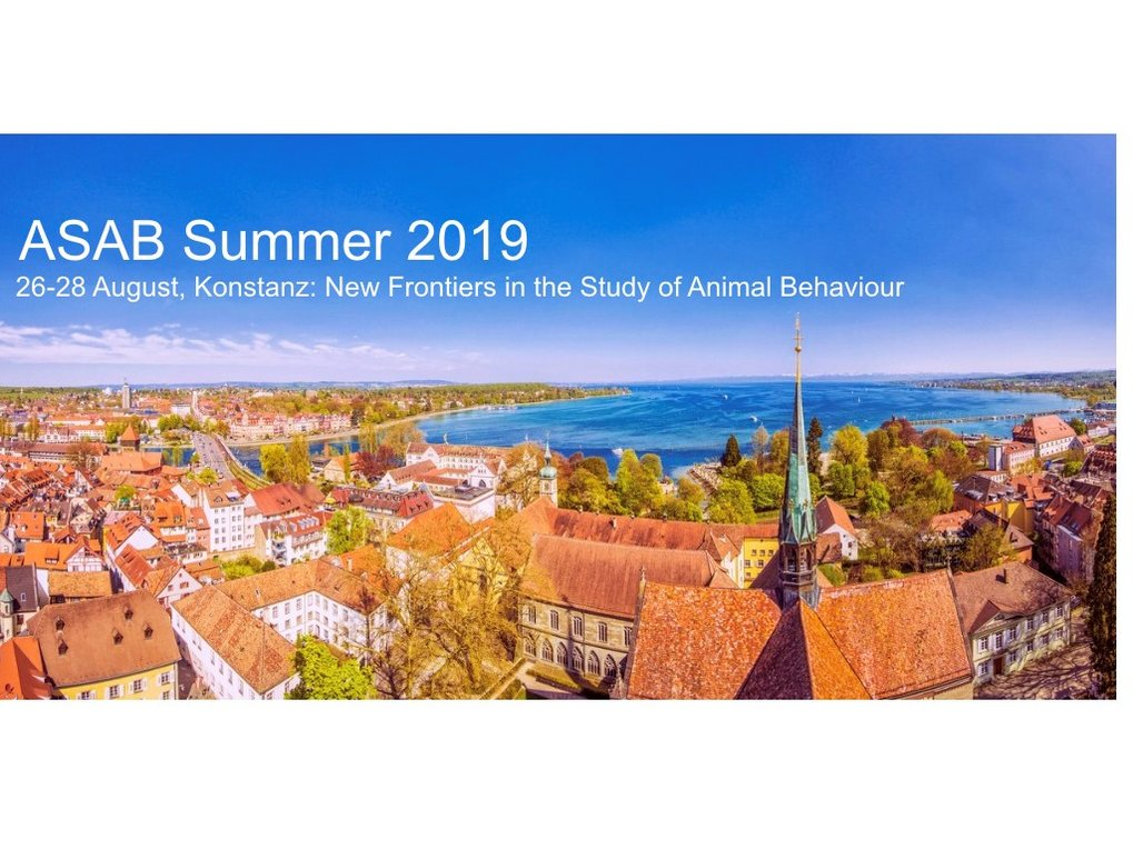 ASAB Summer Conference in Constance 26.08-29.08.2019